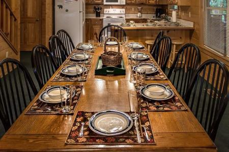 Smoky Mountain Cabin Rental for 16 people