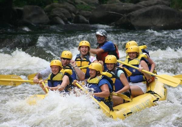 White water rafting in Gatlinburg